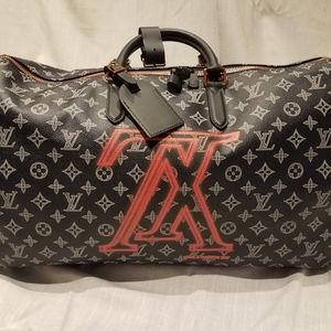 Louis Vuitton Limited Edition Keepall Upside Down